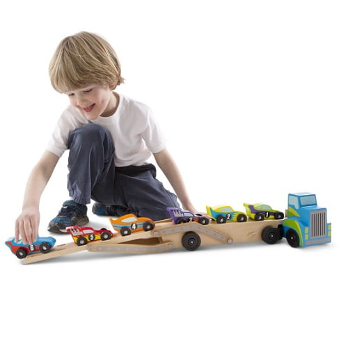 Personalized Wooden Race Car Set 1