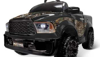 Ride-On-RealTree-Truck