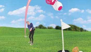 Badminton-Golf-Game