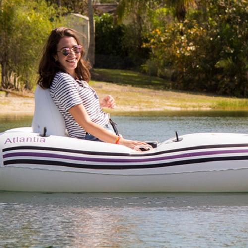 Motorized Inflatable Boat1