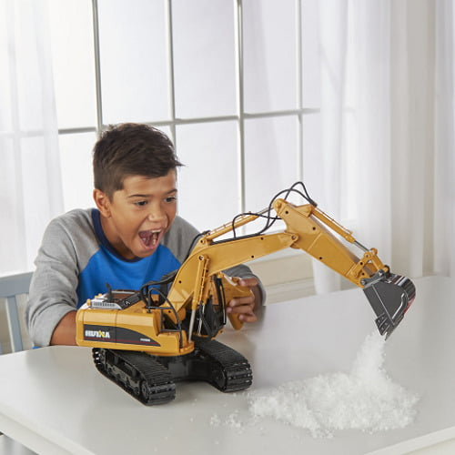 RC Working Excavator