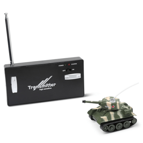 Worlds Smallest RC Tank
