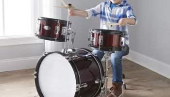 Complete-Junior-Drum-Set