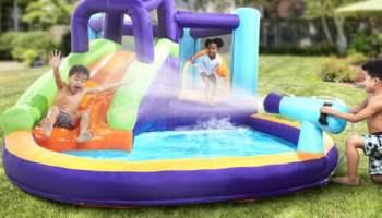 Inflatable-Water-Slide-Splash-Park