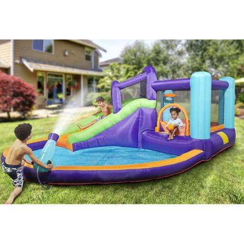 Inflatable Water Slide Splash Park1