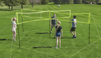 Four-Square-Volleyball-Badminton-Game