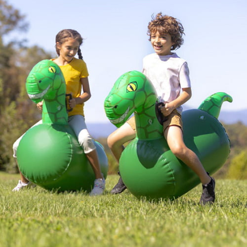 Inflatable Bounce Race Dinos1