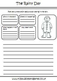 Spring Worksheets Kids Puzzles And Games