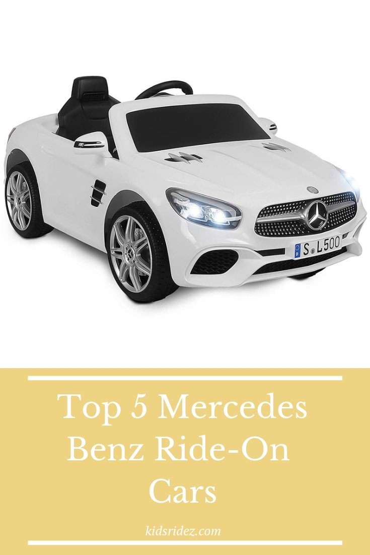 Kids Ridez - Check out the 5 coolest Mercedes-Benz ride-on cars only at KidsRidez.Com