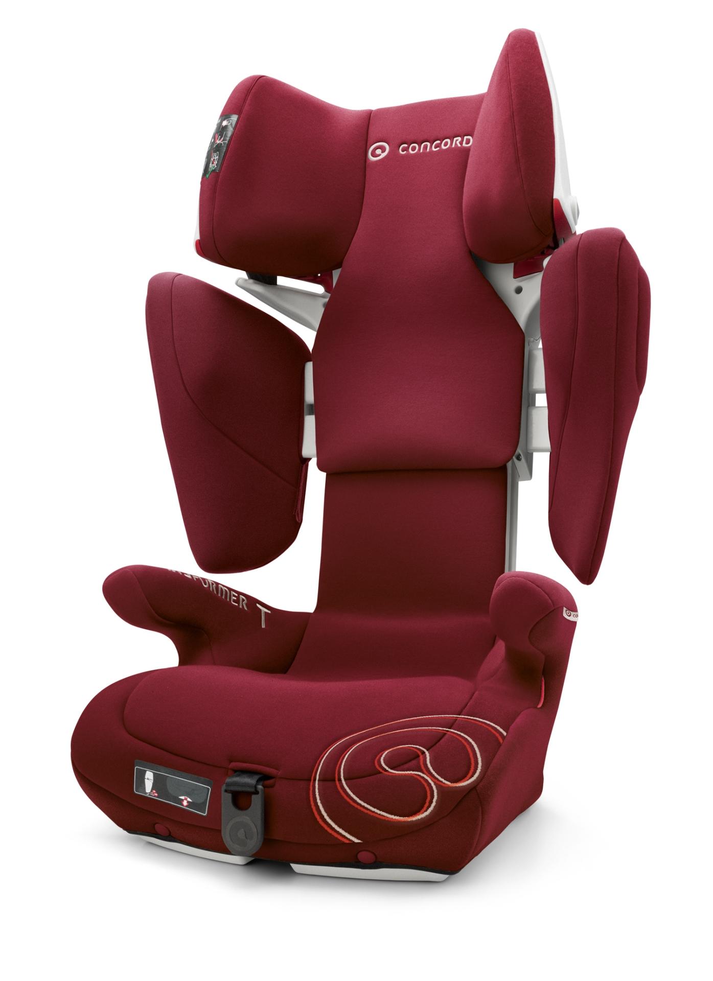 Concord 兒童汽車安全座椅 Transformer T 2017 Bordeaux Red kidsroom德國直郵母嬰用品網店   兒童汽車安全座椅   兒童汽車 ...