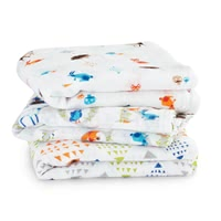 aden+anais musy cheesecloth burp cloths, pack of 3
