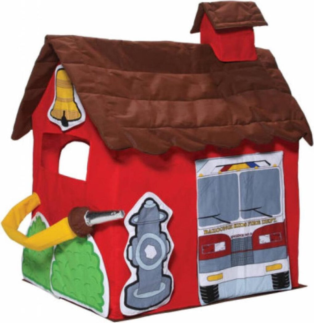Bazoongi Kids tent brandweer