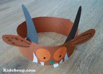 Resultat d'imatges de gruffalo crafts