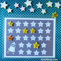 Space And Astronauts Preschool Activities Lessons Games