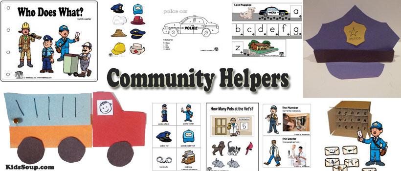Community Helpers Preschool Activities Crafts Lessons