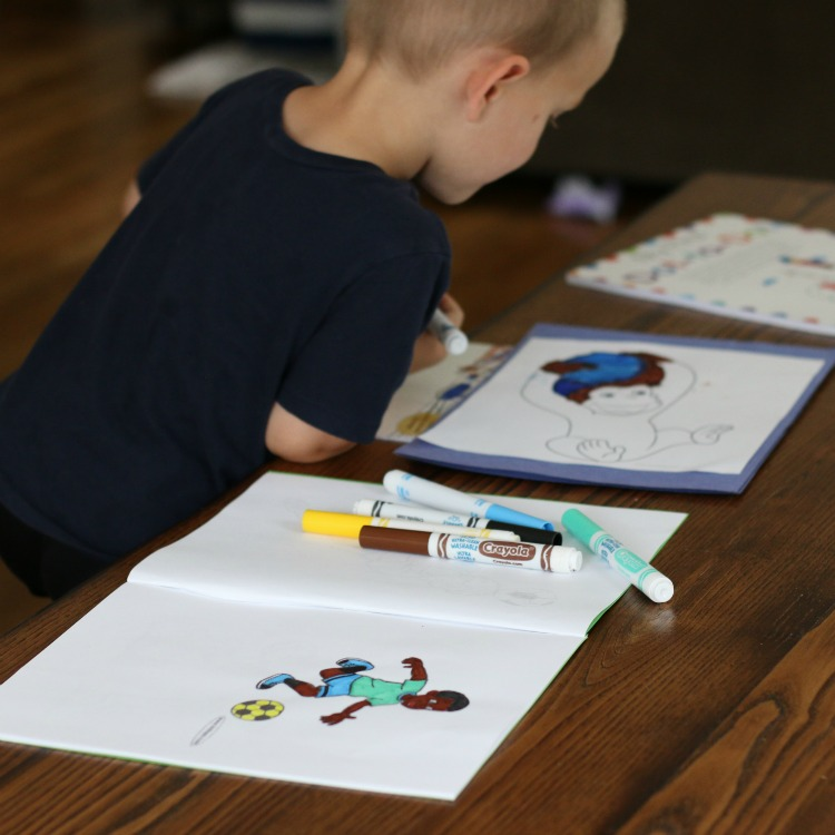 5 Easy Steps To Make Your Own Personalized Coloring Book