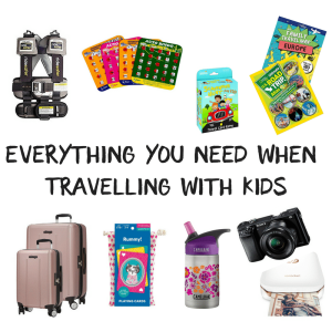 Travelling with Kids Essentials List