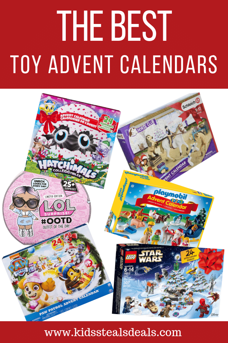 The Best Toy Advent Calendars of 2018