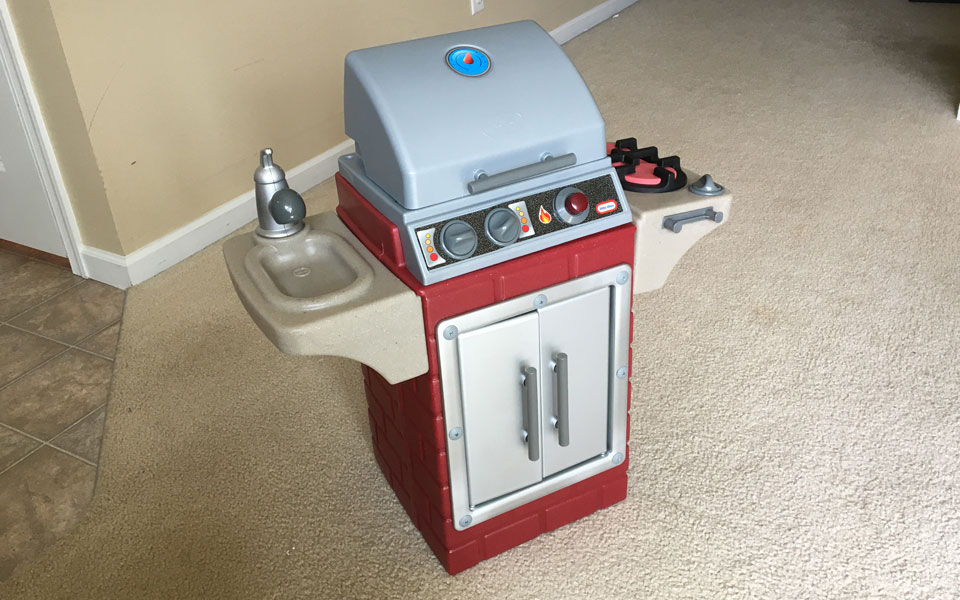 Little Tikes Backyard Barbecue™ Get Out 'n' Grill - Kids ...