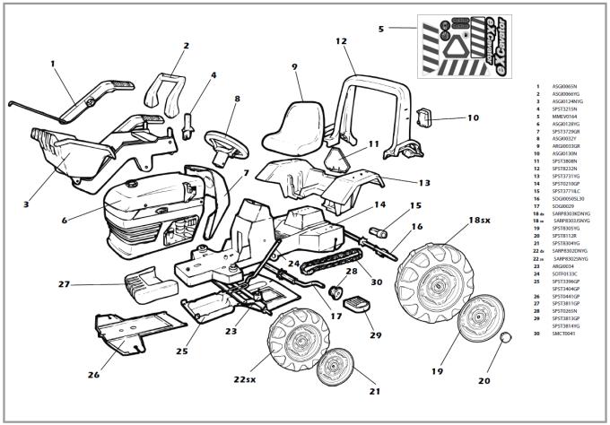 car interior parts names pdf