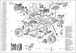 Gaucho rockin revised IGOD0024 Parts  KidsWheels