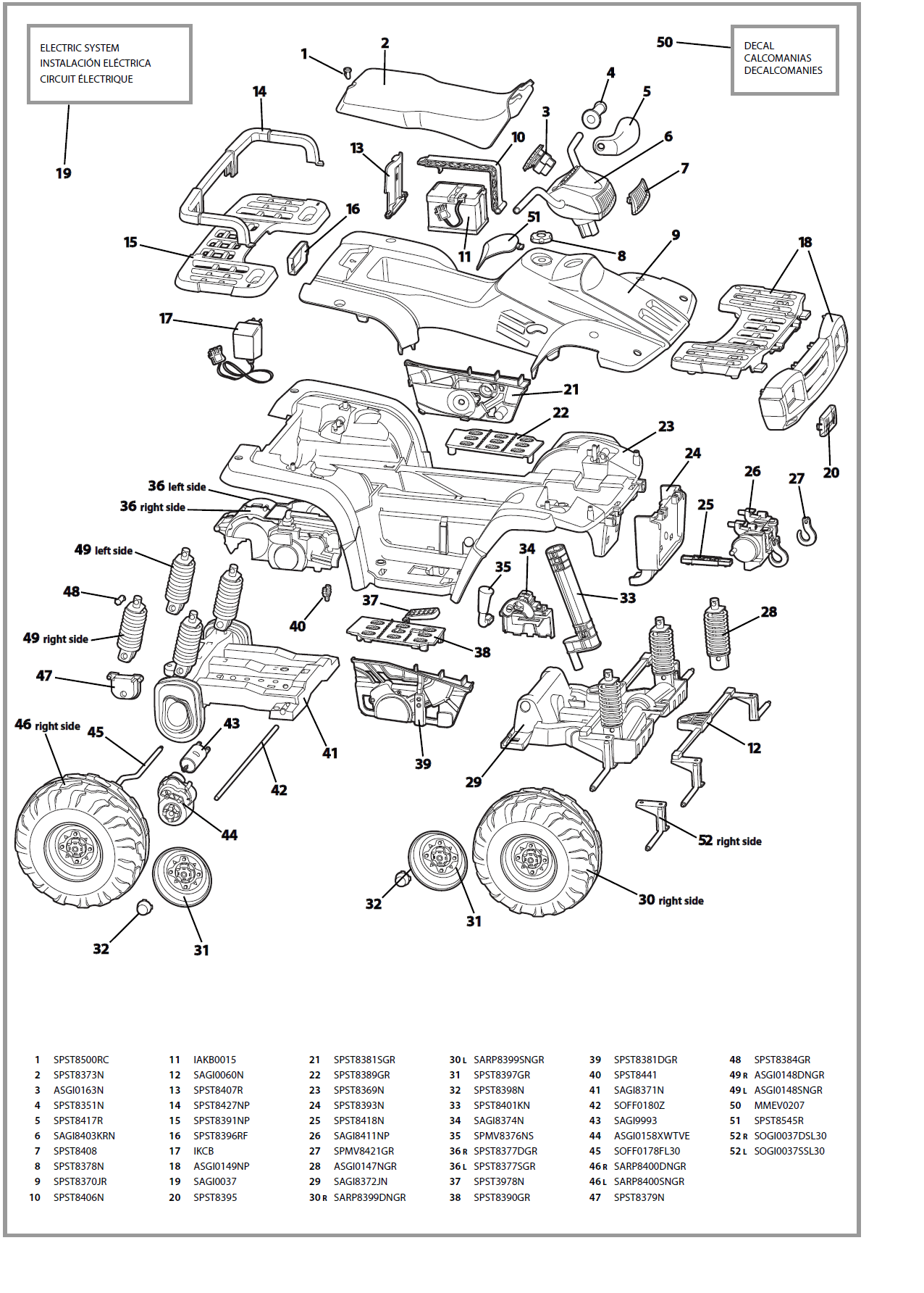 Polaris Ranger 500 Parts Diagram