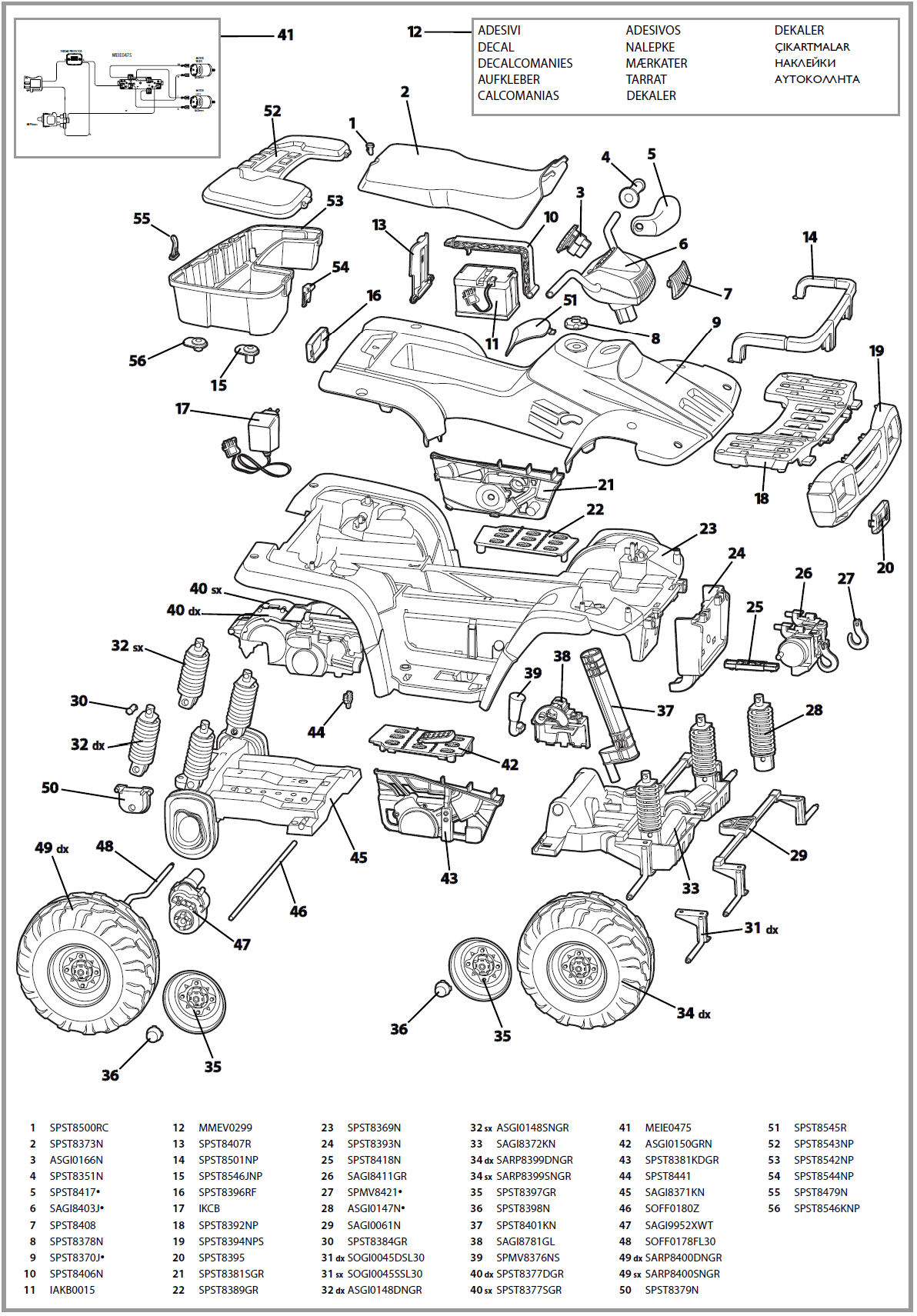 Polaris Trailblazer Schematics