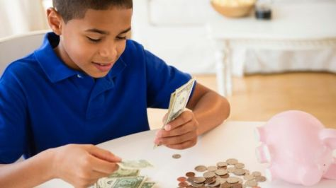 Young Boy with Pocket Money