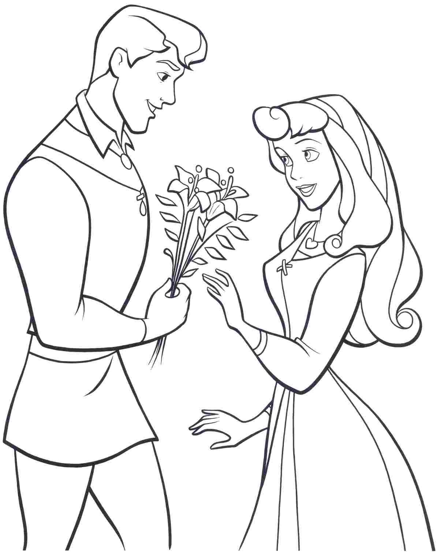 Disney princess aurora download printable coloring image, disney princess coloring pages
