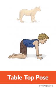 North American Animals Alphabet Yoga for Kids | Kids Yoga ...