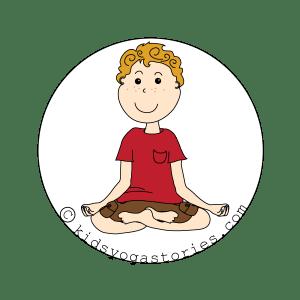 lotus Pose kids yoga stories