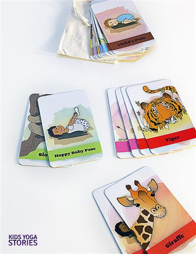 image regarding Yoga Cards Printable called No cost Printable Yoga Poses Playing cards