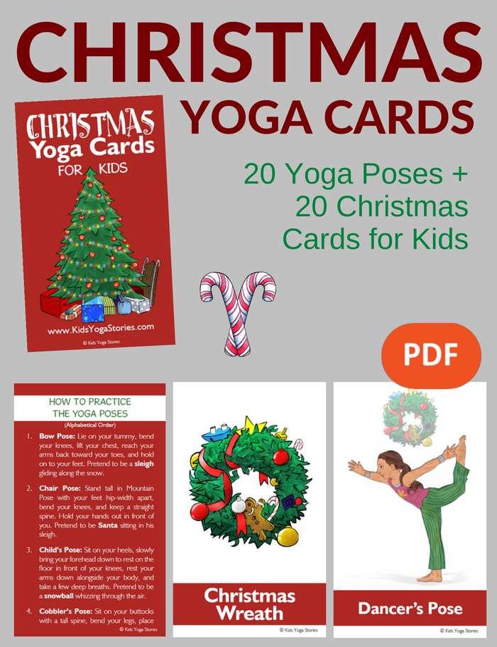 Christmas Yoga Poses | Wajiyoga co
