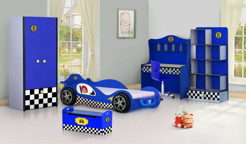 KidsZone Furniture Boys Bedroom Set 11