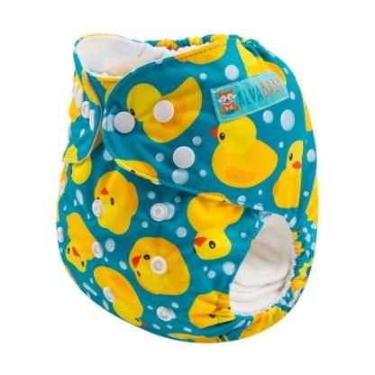 Reusable Cloth Pocket Nappy Rubber Duck