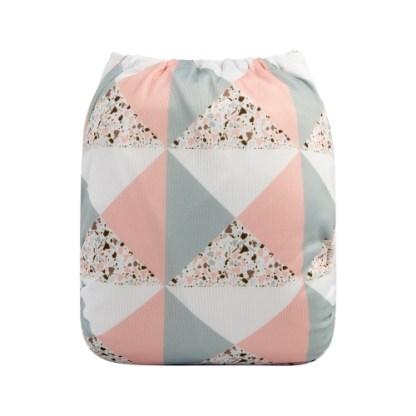 Reusable Cloth Pocket Nappy Pastel Pink