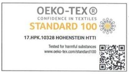 Oeko Tex standard certificate