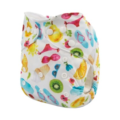 Reusable Cloth Pocket Nappy Ice Cream