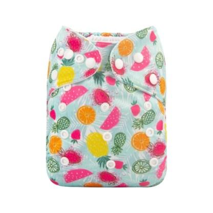 Alvababy Reusable Cloth Pocket Nappy Tropical Fruit