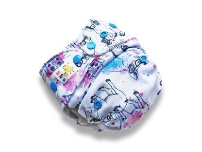 AIO Nappy Reusable CLoth Piggy