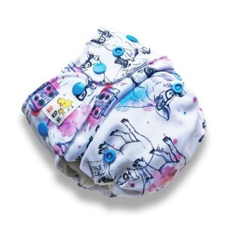 AIO Nappy Reusable CLoth Piggy