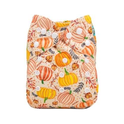 Reusable Cloth Pocket Nappy Pumpkin