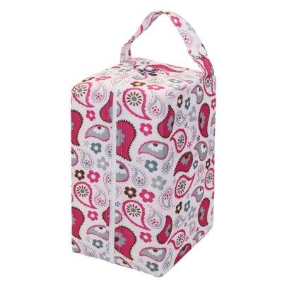Nappy Wet Bag Nappy Pod Dry Paisley
