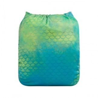Reusable Cloth Pocket Nappy Mermaid in the Sea