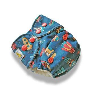 Kokosi Reusable Cloth Nappy AIO Nappy Rockets