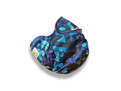 Kokosi Reusable Cloth Nappy AIO NB Newborn Nappy stardust