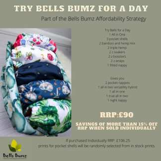 Bells Bumz Reusable Cloth Nappies BellsBumz