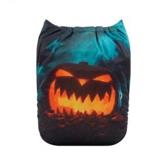 halloween pumpkin cloth nappy