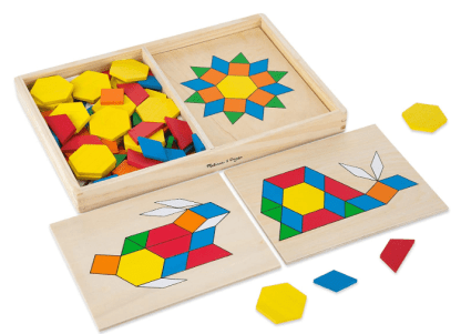 Melissa & Doug Pattern Blocks