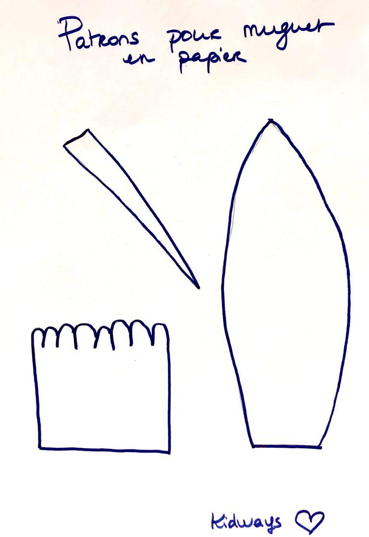 Patrons pour papier en muguet Kidways